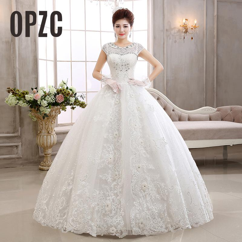 Wedding Gown Korean Style: Velnosa Real Photo Korean Style Vintage Lace Crystal
