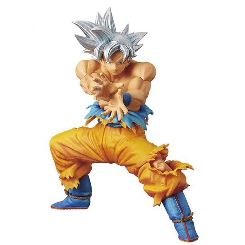 Anime Dragon Ball Z Super Ultra Instinct Goku Die Super KRIEGER SPEZIELLE Abbildung Modell Sammlung Spielzeug 16 cm