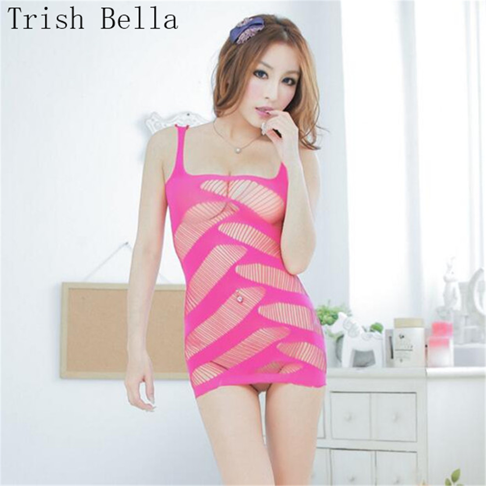 transparent Hollow out Vest twill Tassels Net clothing lenceria body sexy costumes bodystocking catsuit babydoll body stocking
