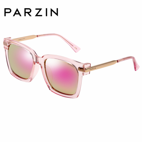 PARZIN Brand Winter New Polarized Sunglasses Men and Women Fashion Large Square Frame Driving sunglasses With Original Box9673 Multan
