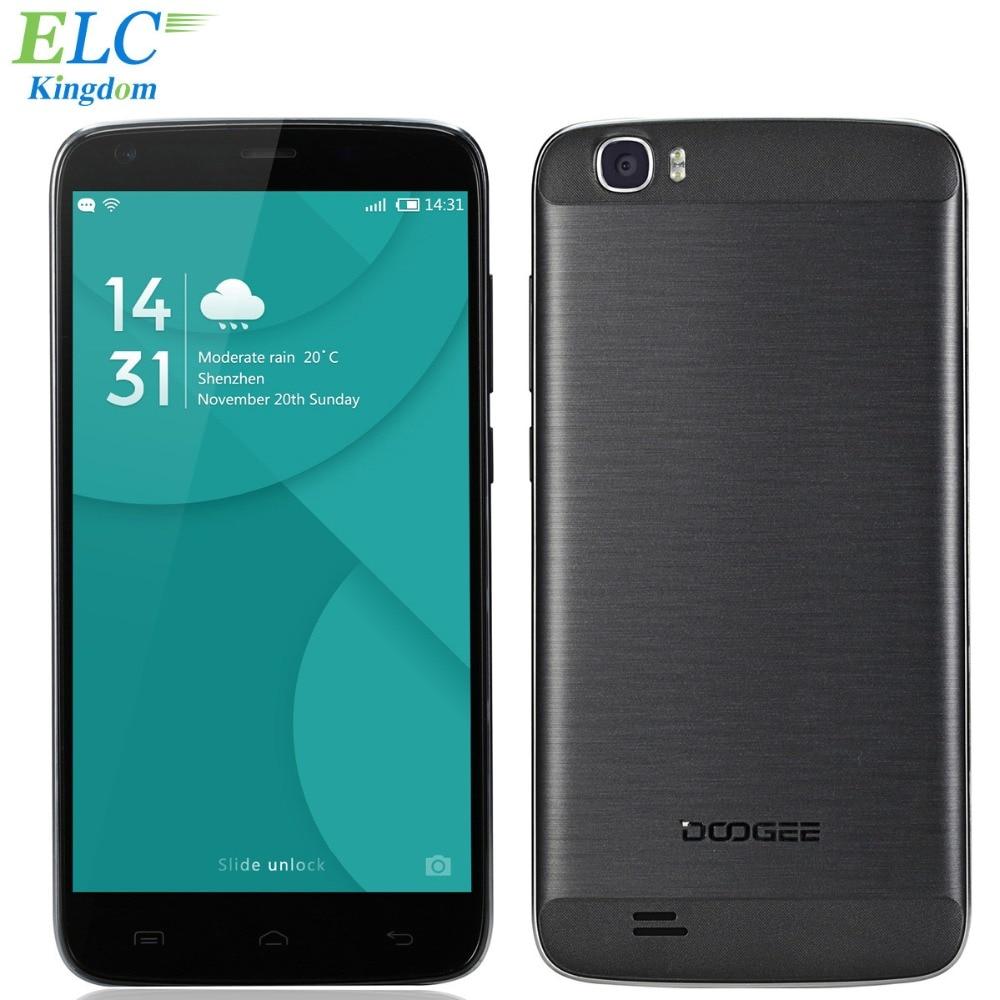 Original DOOGEE T6 Pro 6250mAh 4G LTE font b Smartphone b font 5 5 1280x720 HD