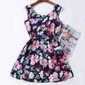 Мода Дешевые Одежда Китай Женщины Одеваются Печати Богемный Пляж Saias Femininas Марка Случайные Vestidos Летнее Платье Стиль