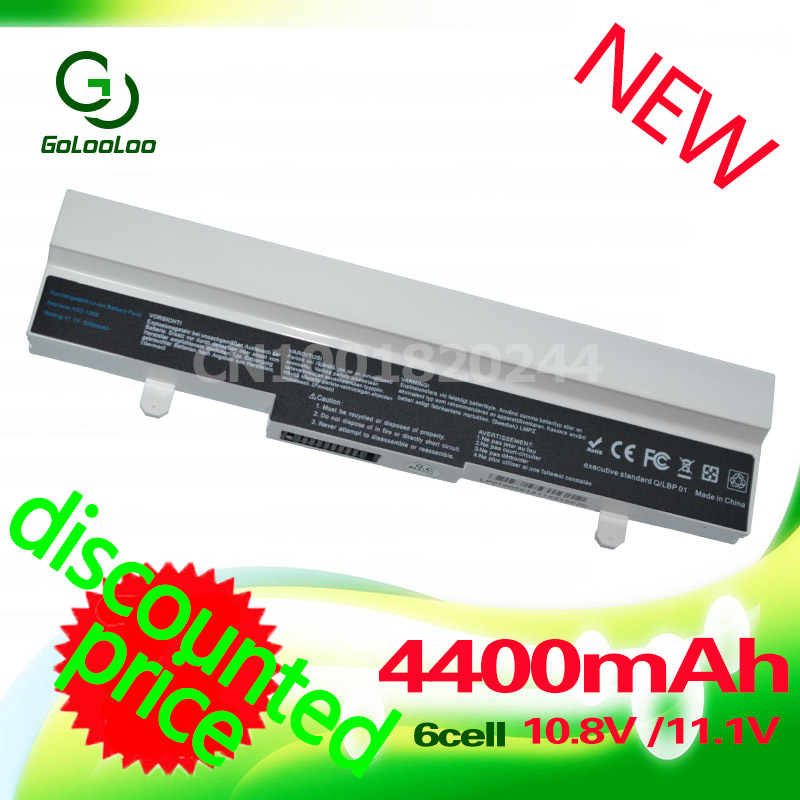 Golooloo Laptop battery for Asus Eee PC ML32-1005 1001HA 1001P 1005 1001PQ 1005H 1005HA 1005HAB 1005HR AL31-1005 AL32-1005 appella 484 1005