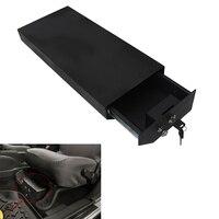 Сталь блокировки коробки под сиденье водителя коробка для хранения для Jeep Wrangler JK неограниченное JKU в текстурированные черный # CEK093