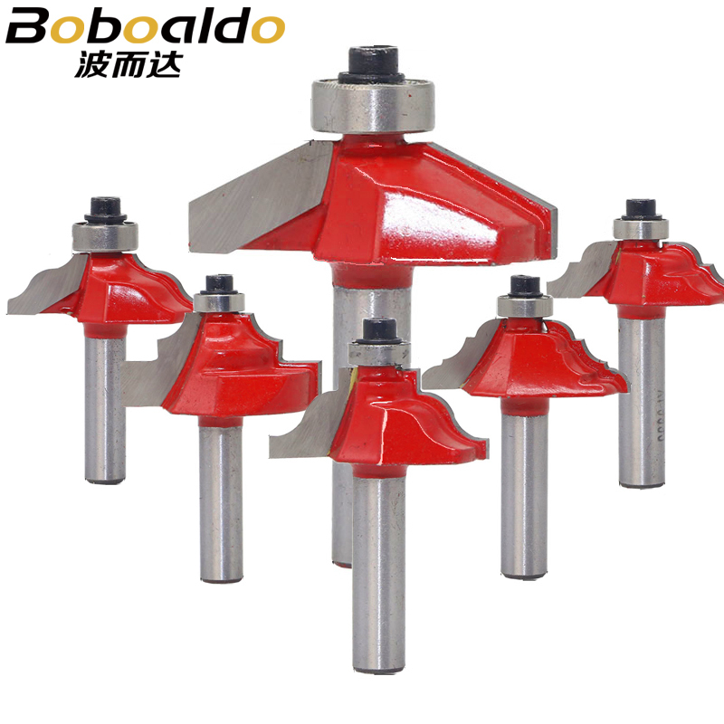 8mm Traditional Ogee Edge Forming Router Bit - 8 Shank Woodworking Knife Line For Wood