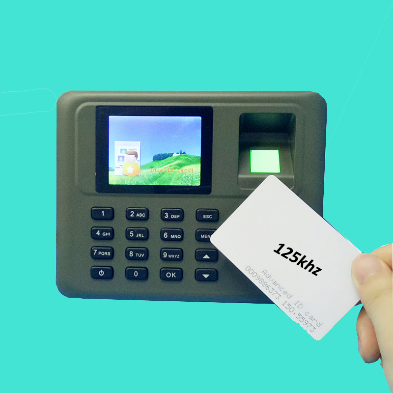Tcp/ip Fingerprint & Rfid card attendance System Employee Fingerprint Time Attendance Management System Time Recording tcp ip fingerprint time attendance color screen 2000 user time attendance fingerprint password rfid card time atteendance