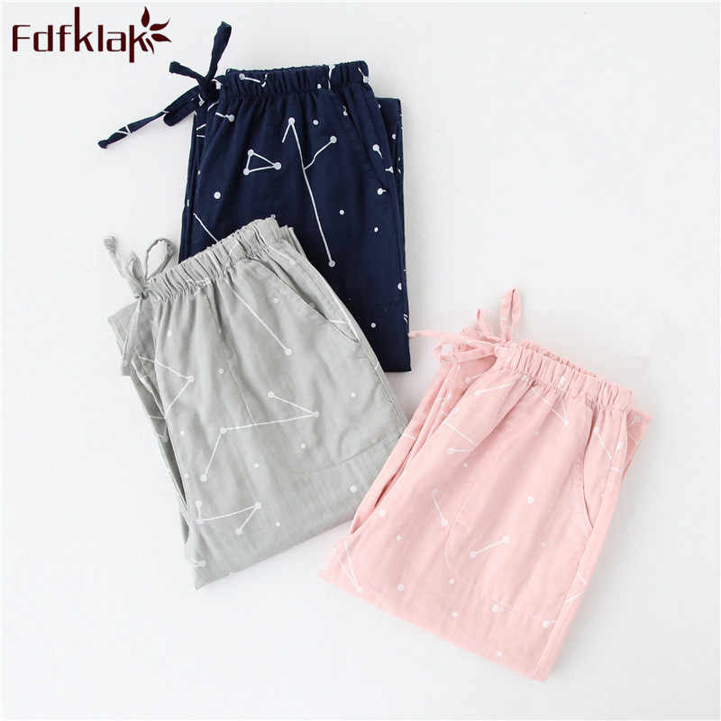 ad77b98686 Fdfklak Women or Man Sleep Pijama Pants Fashion Print Autumn Winter Pajama  Pant Pyjamas Women Long