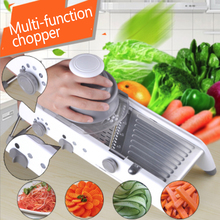 Manual Vegetable Cutter Multifunctional Grater With Adjustable 304 Stainless Steel Blades for Fruit Kitchen Tools