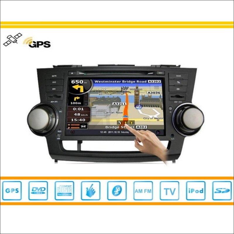 S160 Sistema Multimedia del coche Para Toyota Kluger 2007 ~ 2013 Radio CD Reprod