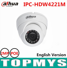 Dahua 2MP HD WDR Network IR Eyeball Camera IPC-HDW4221M POE IR 30m CCTV security ip Camera support smart Detection