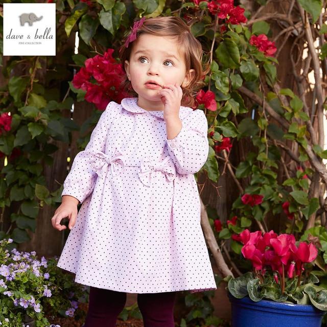 Db4006 Davebella Spring Baby Girl Vintage Style Princess Dress Baby
