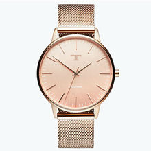2017 Nueva Famosa Marca de Reloj de Cuarzo de Las Mujeres de Malla Vestido de Las Mujeres de Acero Inoxidable Relojes Reloj Mujer Feminino Reloj Caliente