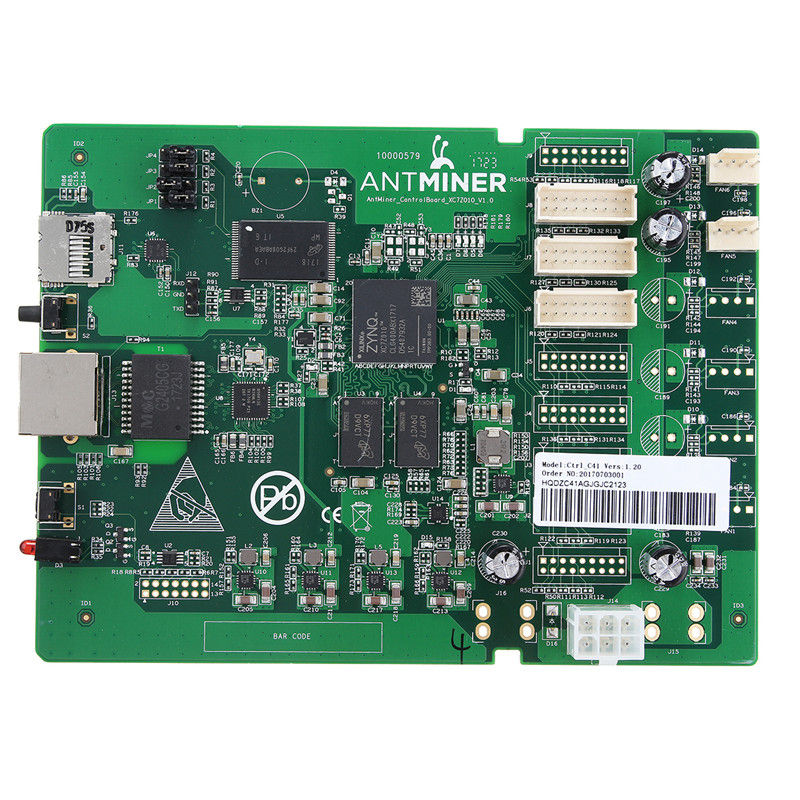 S9 Control Board Data Circuit Board S9 Controller Card Dashboard for Bitcoin Miner Antminer S9 Repair Parts