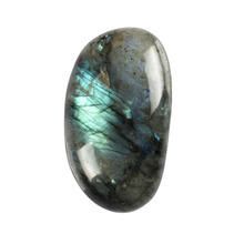Natural Labradorite Clear Crystal Blue Calcite Tumbled Stone