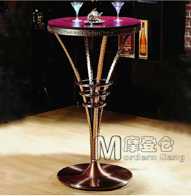 Warehouse style furniture Residential Modern Warehouse Continental European Luxury Bar Bar Table Bar Table Copper Tables Palace style Furniture Tall Tables Kitchen Cabinets Blue Geomiracleinfo Modern Warehouse Continental European Luxury Bar Bar Table Bar Table