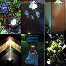 цена на Aquarium lamp solar lamp Underwater Spotlight Projection light waterproof outdoor LED solar light garden light for Pool Pond