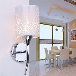 Kinkiet LED nowoczesna sypialnia obok czytania ściana światło kryty salon korytarz pokój hotelowy dekoracyjny element oświetleniowy w Lampy ścienne od Lampy i oświetlenie na