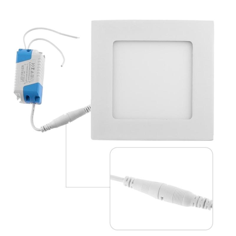 9W/12W/15W Ultra Thin Ceiling Recessed 2835 45LED Square/Round Panel Light Downlight Lamp Useful Home Kitchen Entrance Lamp