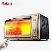 Remote 30L Digital Smart Electric Oven Phone APP  Hot Air Circulation Rotary Barbecue Independent Temperature Control Ovens