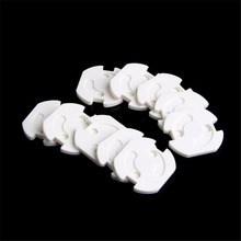 New 10Pcs Plug Socket Cover Baby Proof Child Safety Plug Protector Guard Mains