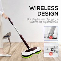 Electric Mop Smart Electric Mop Intelligence Electric Mop Dry and Wet Dual Use 360° Water Tank Gear Shift