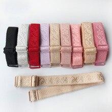 iMucci Women Underwear Shoulder Straps Floral Print Elastic Brassiere Strap Lingerie Fashion Gift