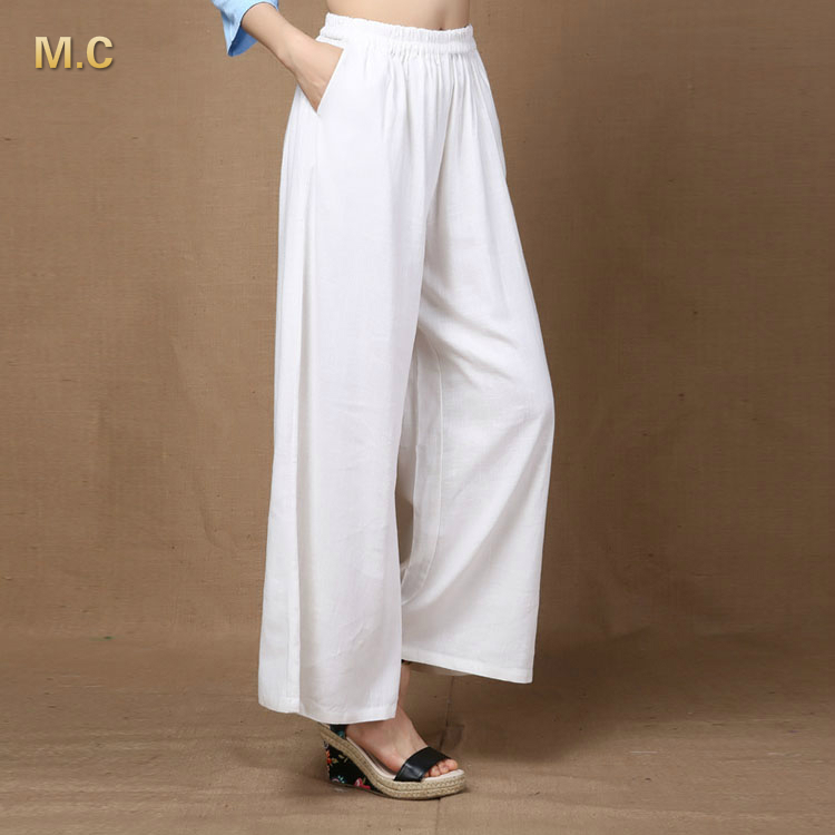 Popular Linen White Pants-Buy Cheap Linen White Pants lots from ...