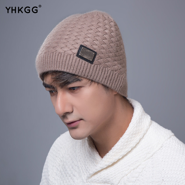 2016  Beanies Winter Hat Brand Knitted Caps YHKGG Winter Hats For Men Women Sport Thicken Ski Bonnet Beanie Gorros