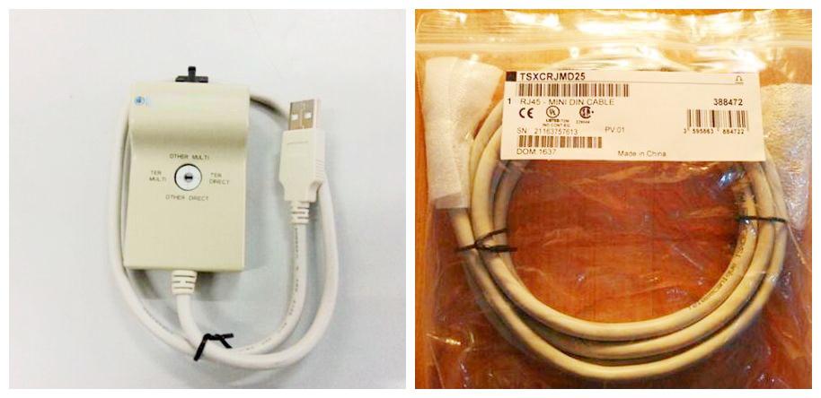 new original TSXCUSB485 + TSXCRJMD25 cable a set new original bsm100gal120dlc bsm100gar12o