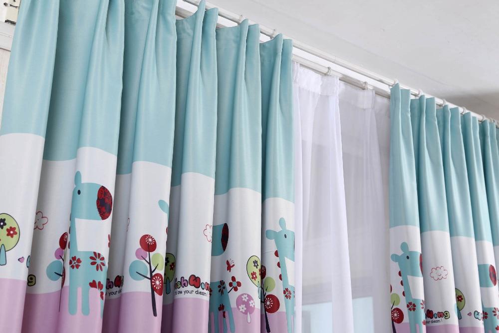 I nuovi bambini stampati tende tende camera da letto tessuto