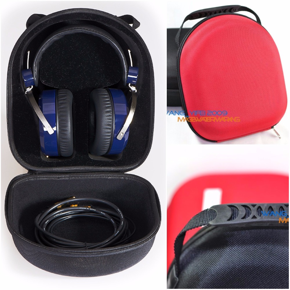Hard Storage Case Travel Box For Hifiman All HE-Series HE400S HE560 HE400i HE300 HE400 HE500 HE4 HE5 HE6 HE5LE Headphone