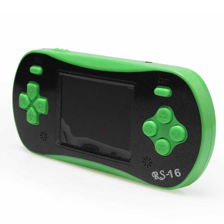 Portable Exhibition Game : Inch bit game console lcd screen color display