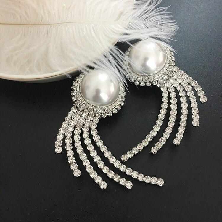 Nouveau clip d'oreille rond perle pleine de forage Finch perceuse boucles d'oreilles éclater-in Boucles d'oreilles pendantes from Bijoux et Accessoires    2