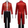 Il Più Grande Showman Drammaturgo Phillip Carlyle Uniforme di Halloween Musicale Film Cosplay Costume C018