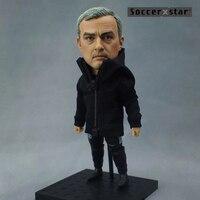 Soccerxstar Figurine Football Player Movable Dolls MOURINHO MU Coach 12CM 5in Figure BOX Include Accessories
