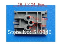 Fits into 36.5mm 25.1mm auto plastic rivet plastic plate buckle cae for renault
