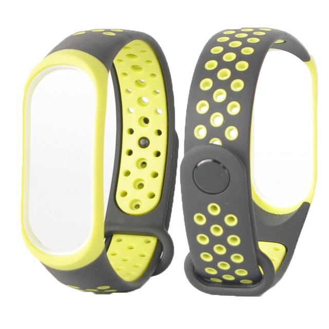 Mi Band 3 strap sport Silicone watch wrist Bracelet miband3 strap accessories Mi band3 bracelet smart for Xiaomi mi band 3 strap 4