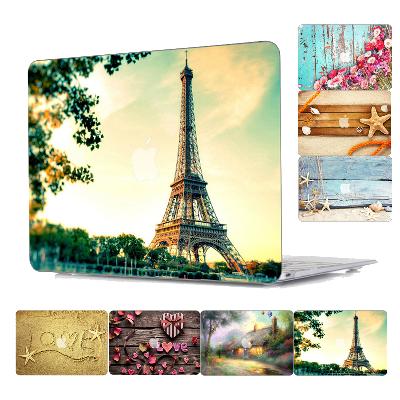 Nature landscape Plastic Hard Laptop Case for MacBook Air Pro Retina 11 12 13 15 Inch Case for Macbook A1707 A1706 A1708 Case redlai plant floral print hard case for apple macbook pro retina 13 3 12 15 4 sleeve air 11 13 3 new pro 13 15 a1706 laptop case
