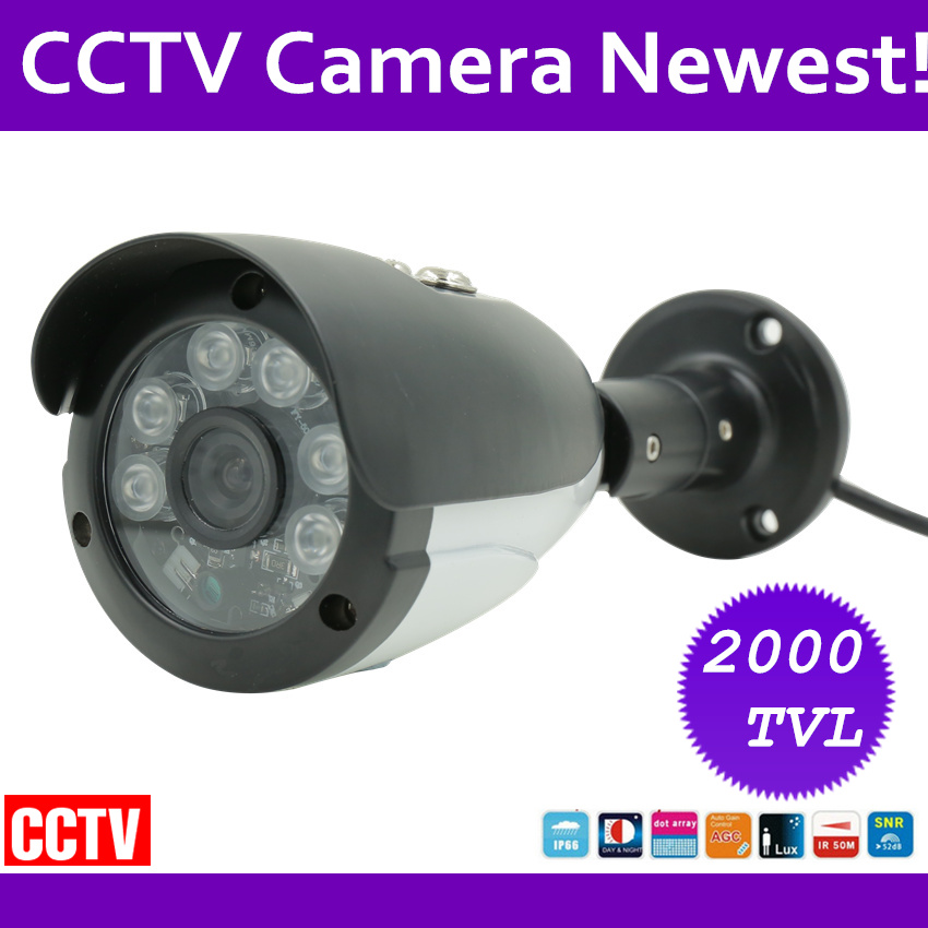 Waterproof IP66 2000tvl CCTV Camera 1/3 Sony CCD with Night vision Day/Night Home Protection IR distance 50m Freeship advanced 128gb cctv camera 50 meters night vision waterproof housing