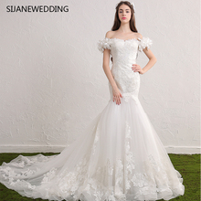 SIJANEWEDDING SIJANE Vestidos De Noiva Flower Party Dress