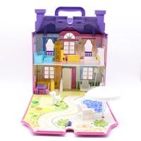 Abbyfrank 3D Dolls House Building Casa FAI DA TE Con Musica Leggera Soggiorno Mobili Per Bambole Villa Camera Da Letto Giardino Giocattolo Per bambini