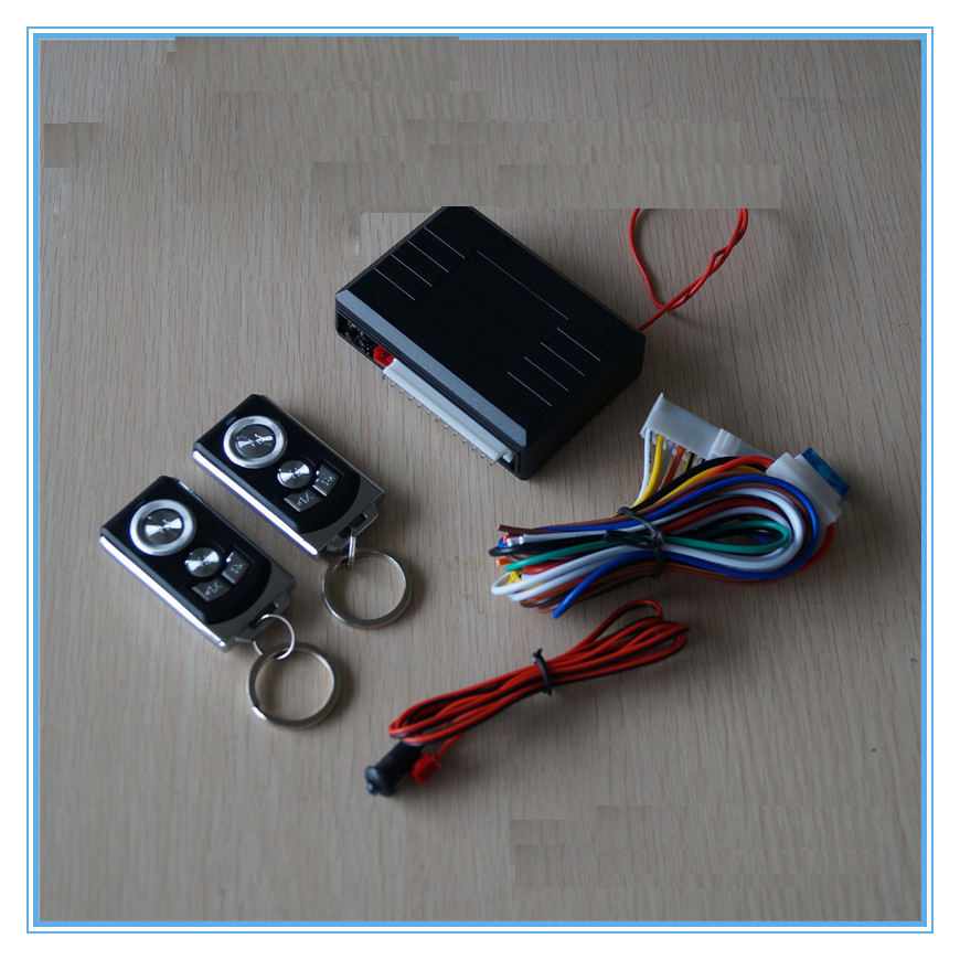 Car Central Lock System Pke Start Stop Remote Control Push