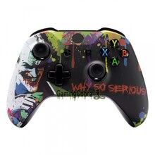 Housing-Shell Faceplate Touch-Grip Xbox One-X-Controller-Sxoft14x Front Joker Custom