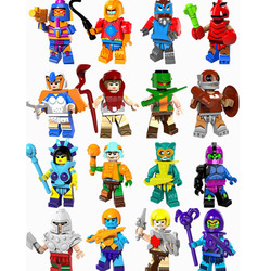 Legoing ER-MANN Meister Super Heroes Clawful Ram Mann PAKER Ske Letor Zodak Bausteine Spielzeug für Kinder Legoings ER MANN