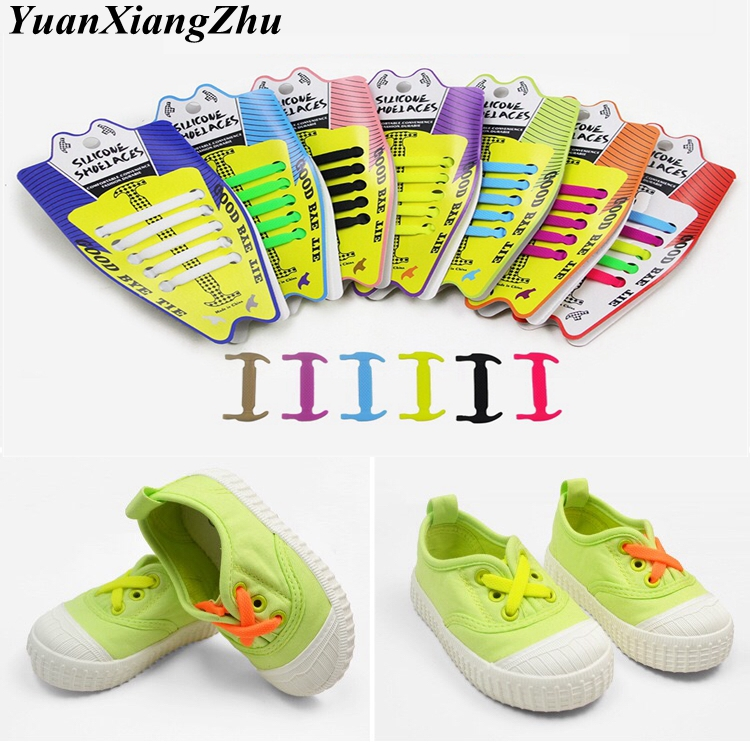 10Pcs/Set Elastic Silicone Shoelaces Children Athletic Running No Tie ShoeLaces All Sneakers shoes lace Fit Strap Shoelace 10Pcs/Set Elastic Silicone Shoelaces Children Athletic Running No Tie ShoeLaces All Sneakers shoes lace Fit Strap Shoelace
