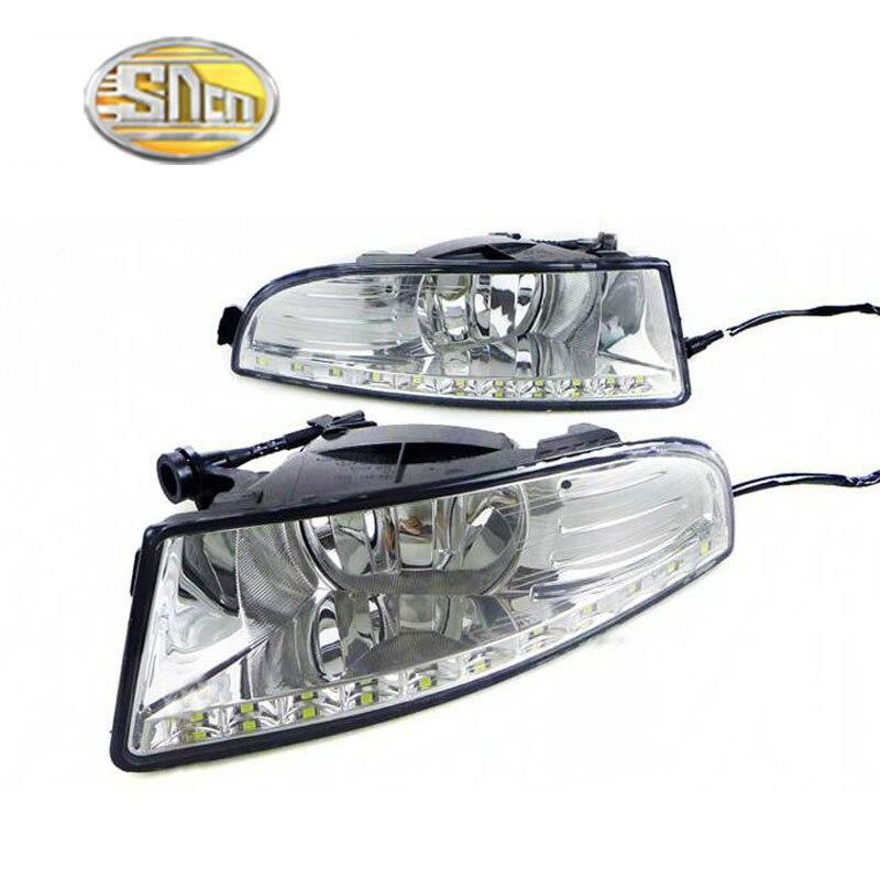 все цены на Super bright Waterproof style 12V LED car DRL Daytime running light with fog lamp hole for SKODA OCTAVIA A5 2010 2011 2012 2013