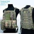 Ajustável engrenagem 6 estilos anfíbio colete Tático ao ar livre Militar de Contraterrorismo cs WG combate Proteção engrenagem GM1404