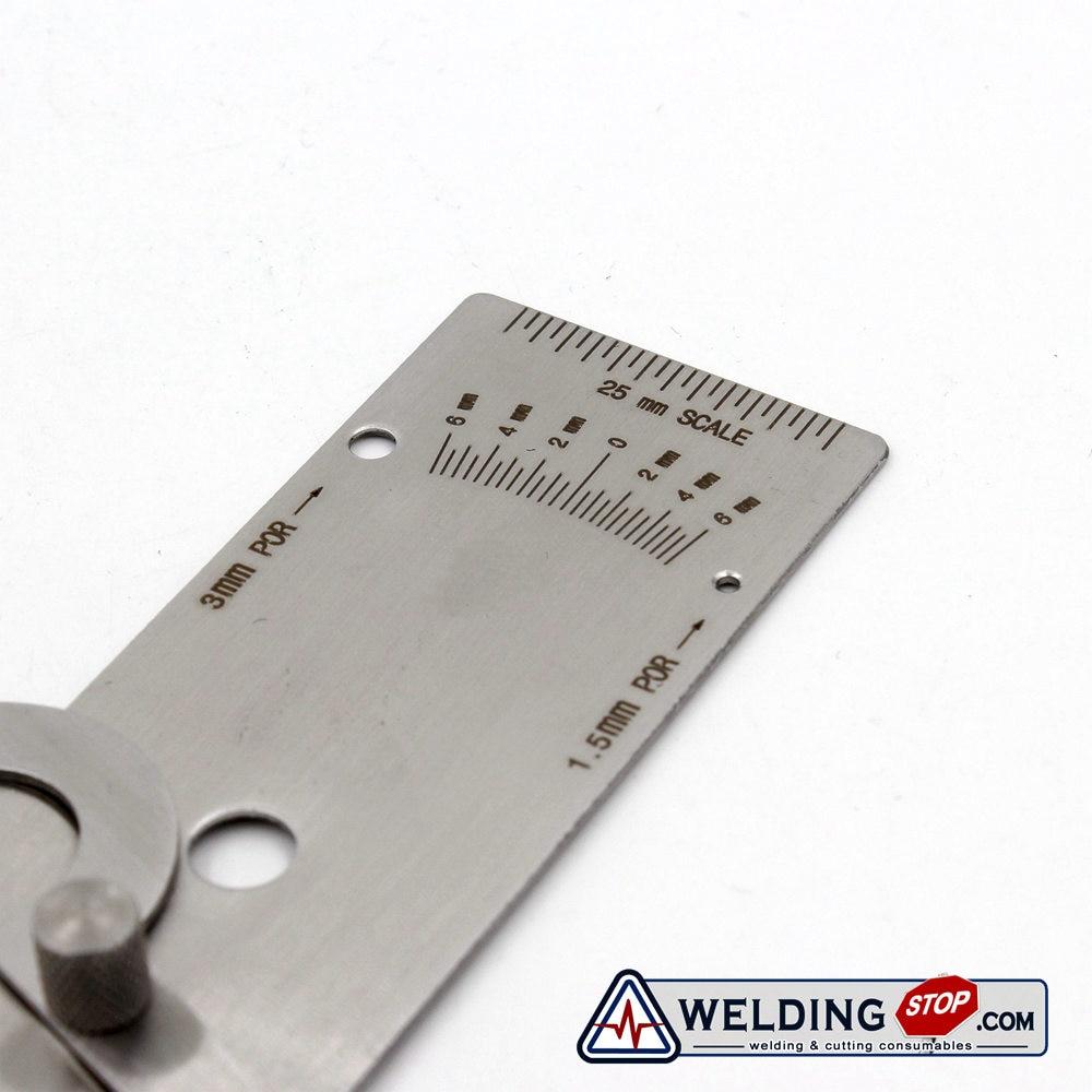 V-Wac Welding Gauge weld Biting Edge Undercut Gage METRIC