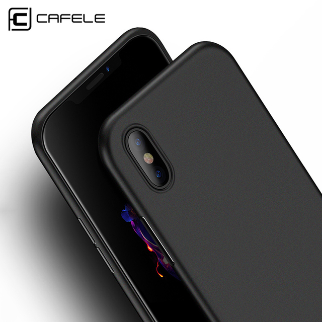 premium selection bc53f a1cad US $2.98 20% OFF|CAFELE Original case for iphone X Xr Xs Max cases Ultra  Thin PP Fashion Transparent back case for Apple iphone 7 8 plus shell-in ...