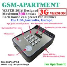 3G und GSM intercom drahtlose tür und toröffner access controller und service helfen aufruf dc12v leistungsaufnahme